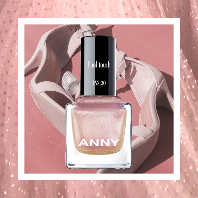 Ein Inspirationsbild des ANNY Nagellacks Final Touch